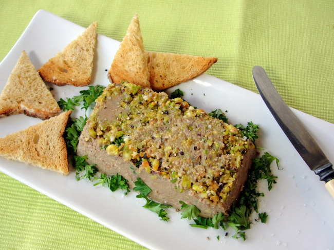 thermomix chicken liver pat 233 with pistachios
