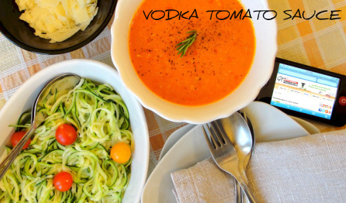 vodka tomato sauce recipe