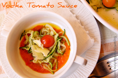 vodka sauce Thermomix recipe