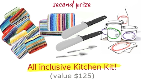 Thermomix Kitchen Kit giveway prize contents