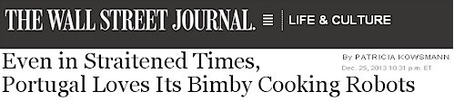 Bimby in USA wall street journal headline
