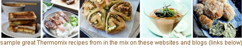 free thermomix recipes from in the mix