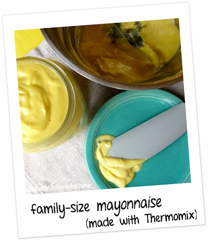Home made mayonnaise, Thermomix recipe