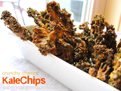 kale chips cheese recipe