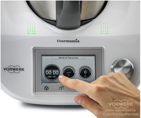 touchscreen on new Thermomix tm5