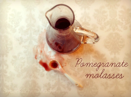 Thermomix recipe pomegranate molasses