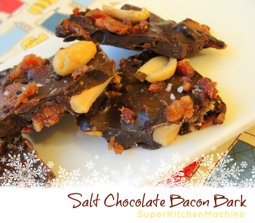 How to temper chocolate with Thermomix for bacon bark recipe