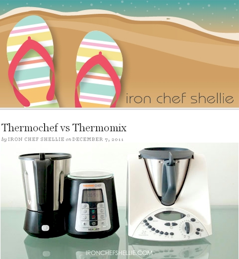 Iron chef shellie review thermomix vs thermochef for Cooking chef vs thermomix
