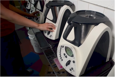 multiple Thermomix kitchen machines