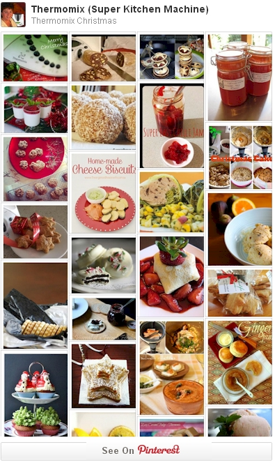 Thermomix Christmas recipe photos from Pinterest