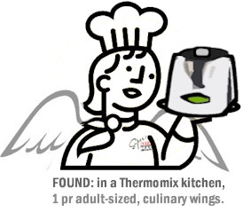 Thermomix as a cooking aid for the blind and other handicaps