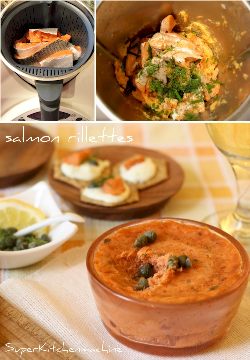 salmon rillettes recipe food wine salmon rillette avec eric smoked ...